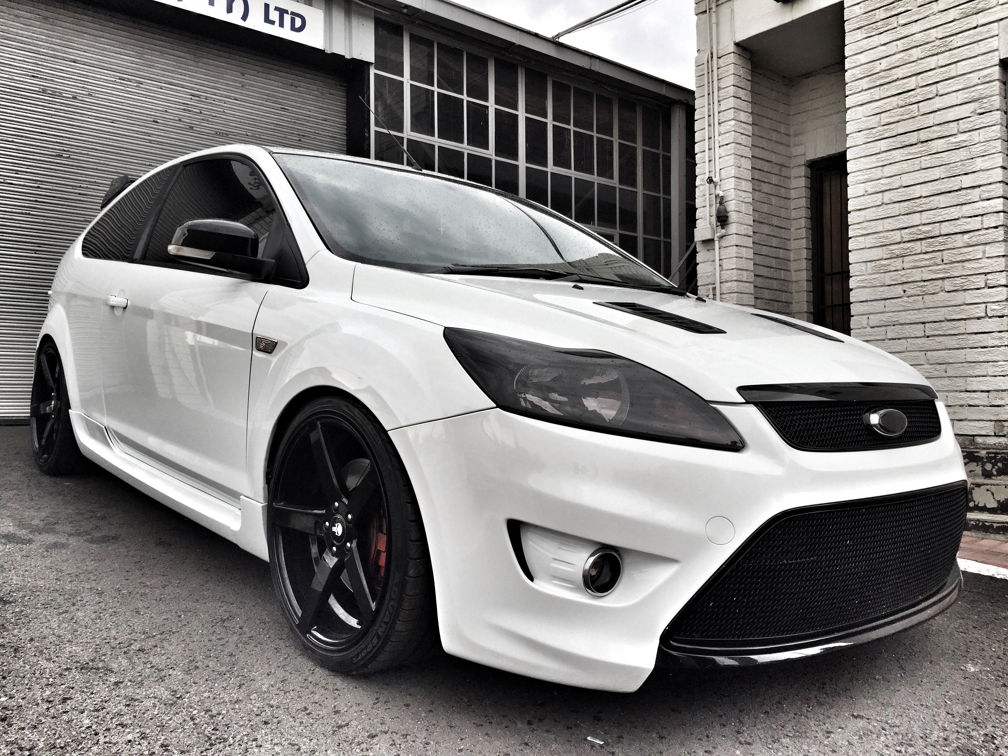 2008 ford focus st face lift